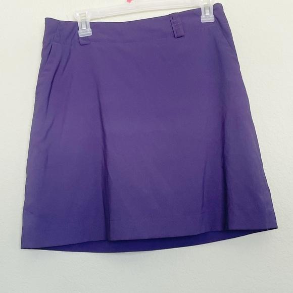 Nike Golf Skort Fit Dry Purple Size 6
